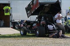World of Outlaws (biggintoo) Tags: cars wings track woo dirt chevy sprint