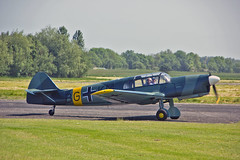 "G-ASTG Nord 1002 Pingouin II (BG+KM) R J Fray Sturgate Fly In 05-06-16 (PlanecrazyUK) Tags: sturgate egcs ""fly in"" 050616 ""lincoln aero club ltd"" gastg nord1002pingouinii bgkm rjfray fly in"
