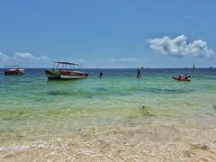 """Beach Life.... #puntacana #beach #dreamspalmbeach #ocean #sand #boat #kayak #paddleboard #sky #cloud (""""Bert"""" Brady) Tags: ocean sky cloud beach boat sand kayak puntacana paddleboard dreamspalmbeach"""