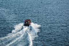 Lamanage (Dorian Duplex) Tags: voyage mer ferry port soleil corse peinture reflet ciel maritime cote bateau paysage navigation controle signe symbole vitesse geometrie ecume coque navire manoeuvre traverse carene commande commandant sillage arseille