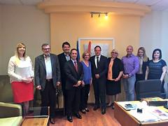 Poseta Ambasade Grčke Velikoj Plani   Επίσκεψη Aντιπροσωπείας της Ελληνικής Πρεσβείας στην πόλη Βέλικα Πλάνα (15.06.2016)