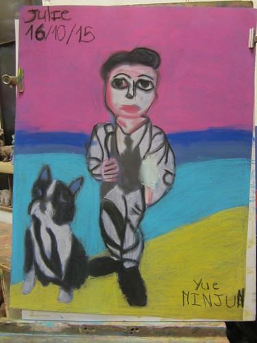 Travaux des enfants de l'atelier Saint Fargeau 2016