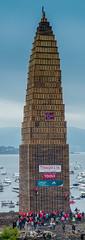 Guinness World Record - Climb Up (jforberg) Tags: world party records water norway night fire midsummer guinness celebration bonfire lesund aalesund 2016 slinningsblet