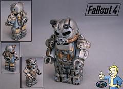 fallout (-iacopo / Minifigures / Custom-) Tags: italy silver war italia lego armor minifig custom serie imc fallout 2016 ps4 t60 fallout4