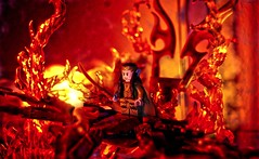 Phoenix Lord (BrickSev) Tags: phoenix toy toys fire photography lego earth flames badass indoor lord elf flame lotr rings fantasy hero lordoftherings middle hobbit diorama tabletop middleearth elves thehobbit elven minifigure the elrond thelordoftherings minifigures toyphotography legophotography legofantasy bricksev