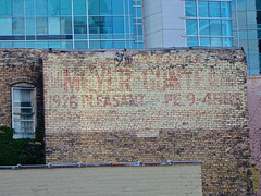 Ghost Sign, Minneapolis, MN (Robby Virus) Tags: minnesota sign ghost minneapolis faded signage meyer pleasant 1926