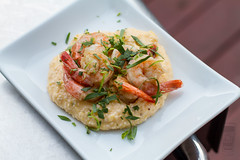 Shrimp & Grits (Another Pint Please...) Tags: beer plate shrimp grill alcohol seafood grits
