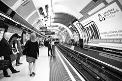 Piccadilly Circus Underground (ClickSnapShot) Tags: travel england london station train underground tube perspective tracks transportation travelers traveler ilobsterit