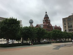 "JFK Memorial Plaza in Dallas • <a style=""font-size:0.8em;"" href=""http://www.flickr.com/photos/109120354@N07/27821964946/"" target=""_blank"">View on Flickr</a>"