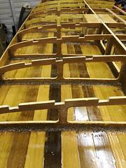Strengthening bars (Steven Vacher) Tags: wood woodwork diy wooden epoxy sup clamps strengthening gorillaglue standuppaddleboard epoxycoat strengtheningbars