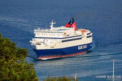 ARIADNE (Giannis Soultanis Photography) Tags: sea ferry port ship ships greece lesvos ariadne mytilene hsw greekisland greekship shipspotting japanship hellenicseaways shipphotography shiplover myhellenicmoment