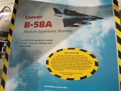 "Convair B-58A Hustler 2 • <a style=""font-size:0.8em;"" href=""http://www.flickr.com/photos/81723459@N04/27841551820/"" target=""_blank"">View on Flickr</a>"