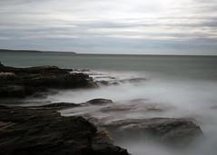 Cornish Coast (chrisdaviesportfolio) Tags: sea seascape motion blur water canon landscape coast cornwall waves coastal filter 10stop canon6d