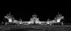 Monumentale (elena.barsottelli) Tags: bw biancoenero milano cimitero monumentale monumet night cemetery urban