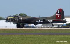 160408_057_B17TexasRaider (AgentADQ) Tags: show sun plane airplane fun flying texas florida aviation air n airshow b17 boeing bomber fortress lakeland flyin raiders 2016
