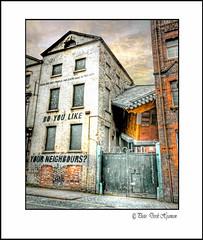 DUKE STREET.... (Derek Hyamson) Tags: street liverpool artwork duke hdr