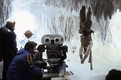 Luke in the Wampa Cave (Tom Simpson) Tags: starwars cave lukeskywalker behindthescenes hoth markhamill wampa theempirestrikesback