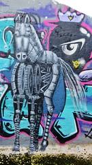 Cee Pil / Dok Noord - 24 juni 2016 (Ferdinand 'Ferre' Feys) Tags: streetart graffiti belgium belgique belgië urbanart graff ghent gent gand graffitiart arteurbano artdelarue urbanarte ceepil