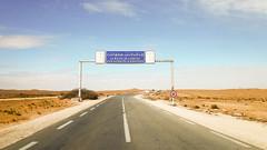 Wilaya de Laghouat   (habib kaki 2) Tags: sahara algeria algerie panneau sud dsert    laghouat rn1