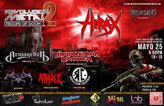 HIRAX Confirms to play Mexicali Baja California for the first time! Saturday, May 25, 2013. (HIRAX Thrash Metal) Tags: music concert destruction band itunes hollywood metallica slayer mekongdelta thinlizzy dri v8 sod anthrax overkill exodus helloween sepultura megadeth venom suicidaltendencies riff metalchurch kreator testament annihilator nuclearassault municipalwaste voivod hermtica celticfrost mercyfulfate metalbladerecords maln spvrecords