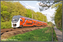 Wolfheze, 09-05-2013 (Mark Rail) Tags: nsr wolfheze 9520 3064 koningstrein