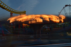 Twister, Twisting (CoasterMadMatt) Tags: park uk greatbritain light england motion blur english up night speed fun island photography coast spring slow ride time photos unitedkingdom britain may illumination fair illuminated lincolnshire east motionblur photographs fantasy shutter gb roller theme amusementpark british rides rollercoaster lit streaks amusment coaster funfair themepark touristattraction attraction coasters eastcoast rollercoasters lightstreak slowshutterspeed skegness litup fantasyisland nighttimephotography ingoldmells 2013 nearskegness