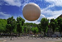 """Balon"" balloon (maurococi) Tags: sky italy cloud clouds torino balloon turin mongolfiera balon"