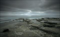 Split Tone Shorescape (Waldemar*) Tags: ocean california light sky usa texture water clouds coast nikon rocks pacific sandiego shoreline lajolla pacificocean shore westcoast tidepools tone pacificcoast splittone leefilter afs1735mmf28d scenicsnotjustlandscapes d800e