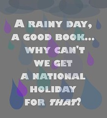 rainy day good book (hcplebranch) Tags: reading marketing libraries books ebranch digitalservices harriscountypubliclibrary facebookgraphics harriscountypl