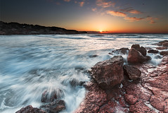 Cala Saona (alfonstr) Tags: longexposure sunset sea sky sun sol beach water canon landscape atardecer mar movement agua rocks playa cel paisaje movimiento cielo 7d puestadesol formentera moviment ele paissatge aigua cala rocas 1022 platja roques postadesol saona alfons bracketing largaexposicin calasaona 2013 alfonstr wwwalfonstrigascom