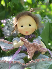 "Lila 10.5"" rag doll - available on Etsy (Pocieszanka) Tags: flower wool tricot knitting doll soft natural handmade waldorf knit poland polska felt fairy cotton fairies montessori fiber handmadedolls ragdoll softdoll puppe puppen steiner lalka handmadedoll waldorfdoll trykot piaseczno steinerdoll waldorfdolls waldorfpuppe stoffpuppe waldorfcraft waldorfska pocieszanka"