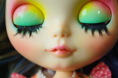 """A-Dong's Custom Blythe doll No.64 """"Blossoming of Love"""""""