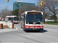 TTC 8371 (TheTransitCamera) Tags: city toronto ontario bus public subway ttc transport transit orion ng commission vii ttc8371