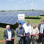 Einweihung Solarpark Klixbüll