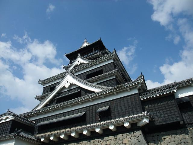 熊本城と高千穂神社、鵜戸神宮で歴史に触れ、と阿蘇山や高千穂峡で自然満喫の写真