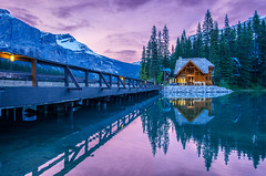 85 Canada, Emerald lake (KAM0S) Tags: longexposure mountain lake canada calgary nature vancouver river landscape golden waterfall rocks jasper quebec outdoor montreal adventure alberta banff lakelouise peytolake morainelake bowlake waterfowllake medicinelake lakepatricia wearreflection