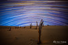 Stockton Sand Dune Star Trails (Kiall Frost) Tags: beach night newcastle stars photography sand australia stump nsw stockton sanddunes startrails stocktonbeach kiallfrost