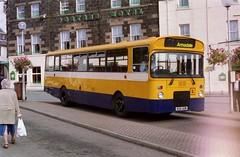 3941 20000823 Rapson B26 ADW (CWG43) Tags: uk bus tiger leyland eastlancs rapson rhymneyvalley highlandomnibuses greentriangle highlandscottish b26adw