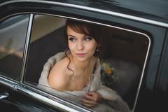 Nitka_wed (KirillSokolov) Tags: flowers wedding portrait nature girl car 35mm bride dress russia wed retro fujifilm fujinon портрет 3514 машина девушка свадьба xe1 ретро волга платье porusski