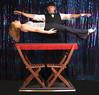 Magical Levitation! (Dayle Krall:Most Accomplished Female Escape Artist) Tags: magic floating levitation richardsherry daylekrall sherryandkrallmagic calgarymagicians