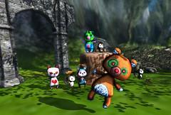 Miamai Halloween plushies (Toya Shelman) Tags: bear new halloween mesh vampire zombie avatar release kitty secondlife fox plushie unicorn gacha secondlifefashion miamai