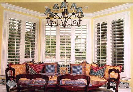 The Louver Shop Columbia features Hunter Douglas shades, blinds and window coverings