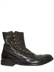 OFFICINE CREATIVE  20MM DYED WASHED LEATHER BOOTS Fashion Fall Winter 2013-14 (xecereterys) Tags: winter men fall leather shoes boots creative 20mm washed dyed officine 2013 officinecreative20mmdyedwashedleatherbootsfallwinter2013menshoesboots