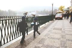 thrill of the hunt (rebeccakirstin) Tags: travel birds canon children europe republic czech prague pigeons praha