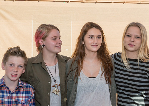 Abbe, Emily, Jake, Lauren