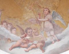 BERGAMO, putto arpista (alessio_bacci) Tags: harp vision:food=0653