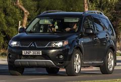 UNP 3030 (rOOmUSh) Tags: auto black car united un unitednations outback mitsubishi nations personnel unp nogeotag