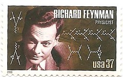 USA stamp - Richard Feynman (sftrajan) Tags: usa stamps stamp timbre scientist postagestamp philately sello briefmarke  richardfeynman francobollo