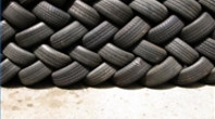 Tires for Recycling-wall (DougBittinger) Tags: