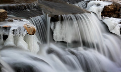 Icy Falls 6 (KYcactus) Tags: vortex ice water frozen waterfall rapids polar